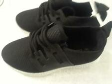 New girls fashion cute mesh black sneakers size 13