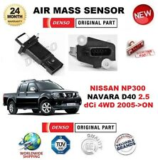 FOR NISSAN NP300 NAVARA D40 2.5 dCi 4WD 2005-> AIR MASS SENSOR 5-PIN w/o HOUSING