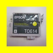 ORIG. cartouche Epson stylus d68/dx3800/dx3850/DX 3850 plus t0614 jaune catégorie B