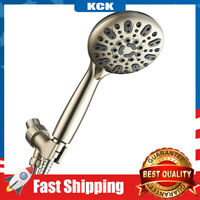 High Pressure Shower Head 5 Function 5in Hose Powerful Air-jet Pressure Boosting
