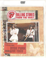ROLLING STONES From The Vault Hyde Park Live 1969 DVD sealed