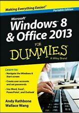 Windows 8 & office 2013 for dummies, portable edition.