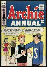 Archie Annual #11 F+/VF- Betty & Veronica Jughead Giant