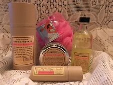 Bath Body Works GRAPEFRUIT PEPPERMINT 5PC Body MIST, OIL, Travel CANDLE, + NEW