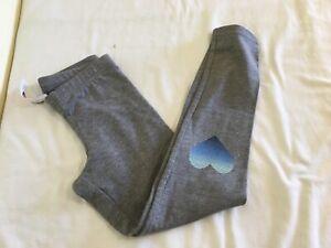 New Old Navy Girl Leggings Gray Blue Heart XS, S, XL