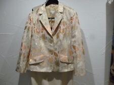 Jobis Damen Kostüm, sehr elegant, Grundfarbe Créme, Gr. 44, Top Zustand a95e494b7e