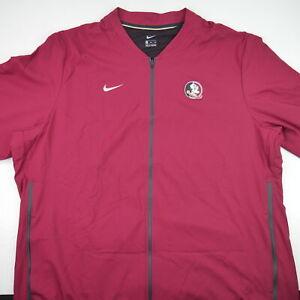Nike FSU Florida State Seminoles Vented Windbreaker Coaches Jacket Mens Size 3XL