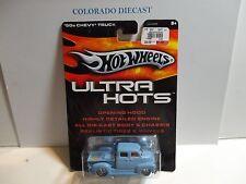 Hot Wheels Ultra Hots Light Blue '50's Chevy Truck