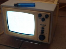 VINTAGE RARE SOVIET USSR  PORTABLE B & W  ANALOG TV