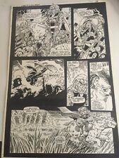 Lords of the Ultra-Realm . Special #2  Page 19 Original Comic Art