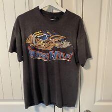 "Vintage 1980's Harley Davidson ""Hawg Wild� T-Shirt"