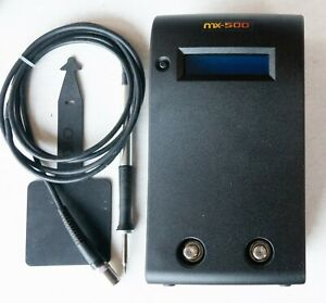 Metcal MX-500P 2 Port Smartheat Soldering Station Hand-Piece + Cartridge TESTED