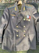 Vintage Soviet Russian Ussr Major General Coat And Pants Uniform