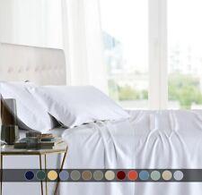 Luxury Split King Adjustable Bed Sheet Set 100% Bamboo Viscose Super Soft Sheets