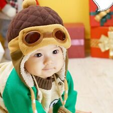New Children Winter Beanie Hat Toddler Baby Boys Girls Warm Winter Aviator Hats