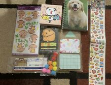 Stickers And Stationary Set