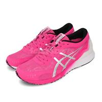 Asics Tartheredge Pink Glo White Women Racing Road Running Shoes 1012A463-700