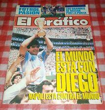 Magazine  El l Gráfico  Diego Armando Maradona