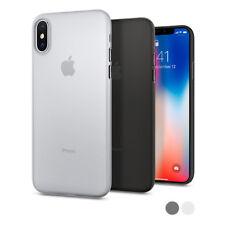 Spigen® Apple iPhone X [Air Skin] Soft Ultra Slim Lightweight Shockproof PC Case