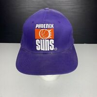 Phoenix Suns Vintage Snapback Cap Hat 90s OSFA Purple NBA