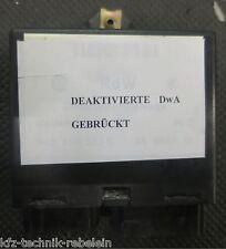 Golf III DWA RdW Diebstahlwarnanlage 1H0953233F 1H0953233B Deaktivierung Brücke