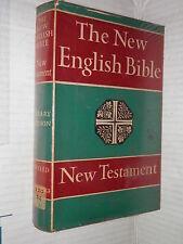 THE NEW ENGLISH BIBLE New Testament Oxford Cambridge University Press 1961 libro