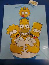 The Simpsons Fox Cartoon Christmas Present Kids Birthday Party Large Gift Bag