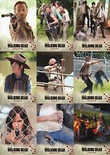 THE WALKING DEAD SEASON 3 PART 1 2014 CRYPTOZOIC COMPLETE BASE CARD SET OF 72 TV