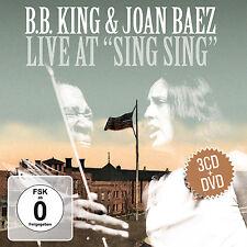 CD DVD BB King und Joan Baez Live At Sing Sing 3CDs und DVD Set