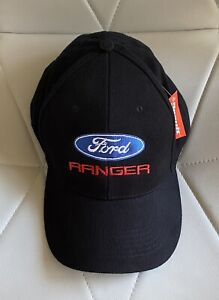 Ford Gifts Embroidered 6 Panel, Brushed Cotton Baseball Cap
