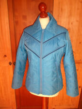 vintage ROCKY Nylon Jacke anorak girls casual wear oldschool ski jacket S (M)