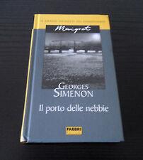 Il porto delle nebbie - Georges Simenon - Prima Edizione Le grandi inchieste del