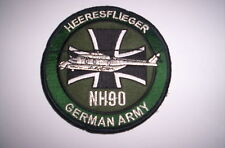 Patch/patch German Army heeresflieger nh-90 ca 10cm