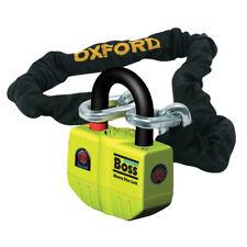 Oxford Boss Alarm Schloss & Kette 12mm X 2.0m