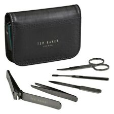 Ted Baker Black Brogue Manicure Set RRP£35