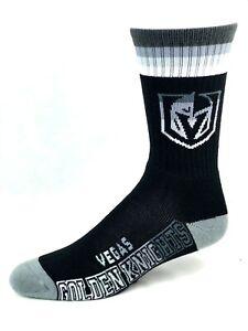 Las Vegas Golden Knights Hockey Platinum Deuce Men's Crew Socks