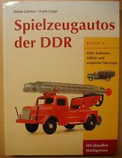 Spielzeugautos Modellautos der DDR Battenberg Bewertungsliste Katalog Buch 2
