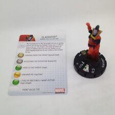 Heroclix Galactic Guardians set Gladiator #040 Super Rare figure w/card!