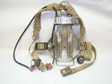 ISI Magnum SCBA Fire Fighter Prepper Air Pack Harness w/ Regulator (H17-1195)