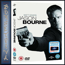 JASON BOURNE - Matt Damon  *BRAND NEW DVD *