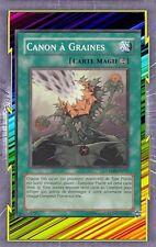 Canon à Graines CRMS-FR057 Magie Continue => Plante Compteur Dommage(2500) YGO