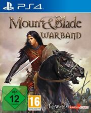 Playstation 4 Mount and Blade Warband NEU