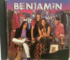"""BENJAMIN """"BENJAMIN"""" MEGA RARE CD FRENCH HARD-ROCK (WARNING, OCEAN ..)"""