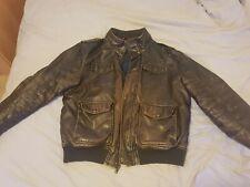 Original Tommy Hilfiger Leather Pilot Jacket