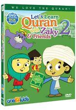 Let's Learn Quran with Zaky & Friends Part 2 DVD Islamic Cartoon Watch & Learn