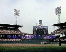 Comiskey Park 1959 World Series with Chesterfield Scoreboard Color 11x14!!! CCC