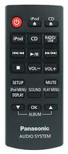 *Nuovo* Genuino Panasonic N2QAYC000057 Telecomando per SC-HC37DB Dab CD