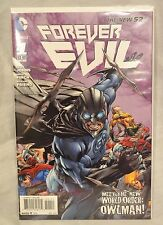 The New 52 Forever Evil #1 Owlman Variant Cover DC Comics Finch Johns NM