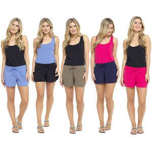 Womens Ladies lounge Beach Summer Shorts Cotton   UK Size 8 10 12 14 16 18 20 22
