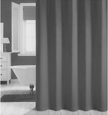 Clearance Charcoal Grey Shower Curtain 2m Long Free Shipping